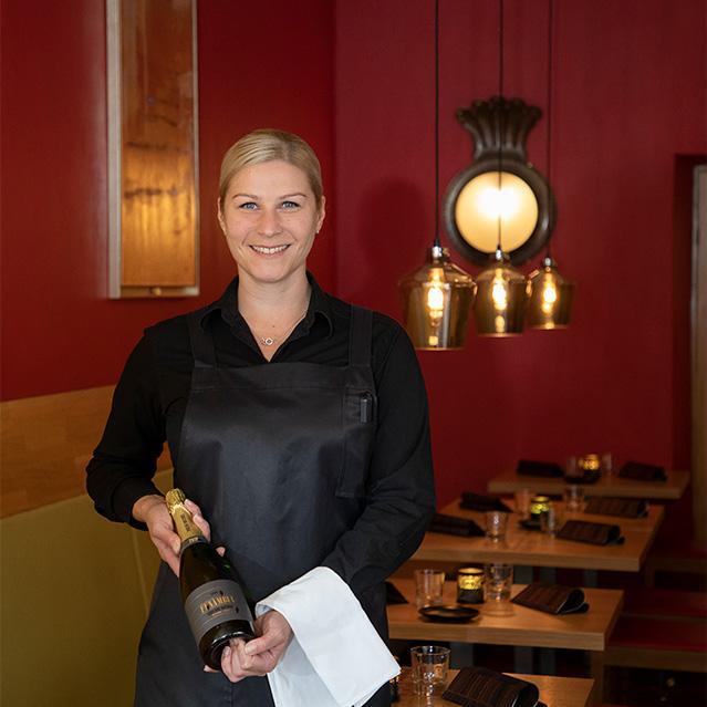 Ravintolapäällikkö Kati Haapalainen